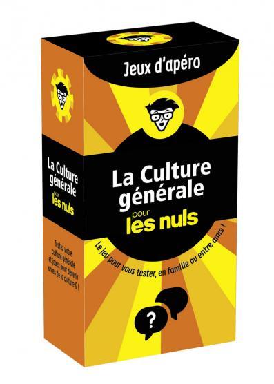 La culture générale pour les Nuls Jeux d'apéros, 2e édition