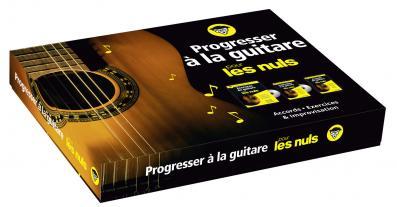 Progresser à la guitare pour les Nuls coffret