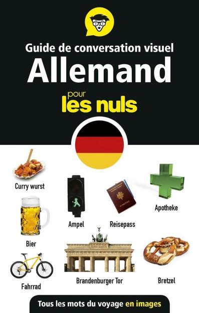 Guide de conversation visuel allemand pour les Nuls