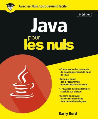 Java pour les Nuls, 4e éd.