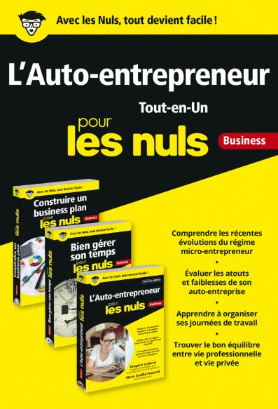 L'auto-entrepreneur Tout-en-Un pour les Nuls