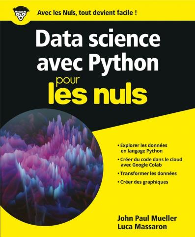 Python pour la Data science pour les Nuls, grand format