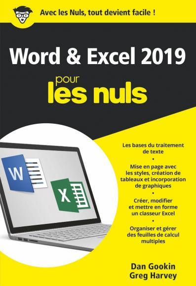 Word et Excel 2019 pour les Nuls, poche, 2e édition