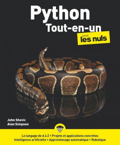 Python tout-en-un pour les Nuls