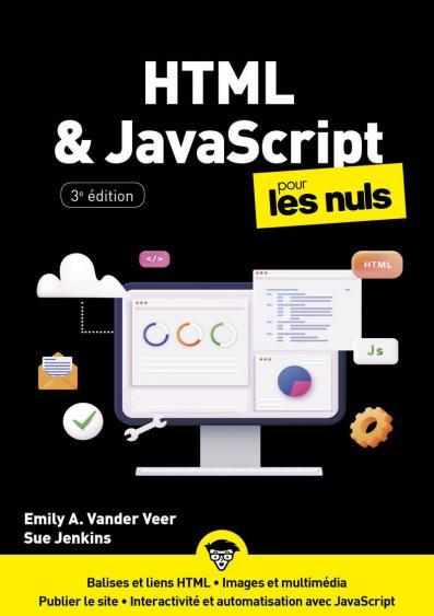 HTML et JavaScript pour les Nuls, mégapoche, 2e éd.