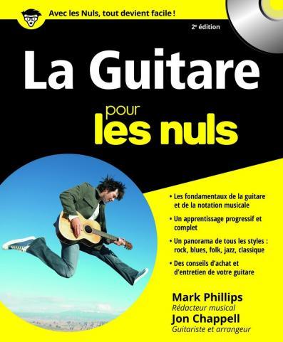La Guitare Pour les Nuls, 2e édition