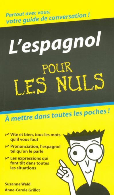 Espagnol - Guide de conversation Pour les Nuls (L')