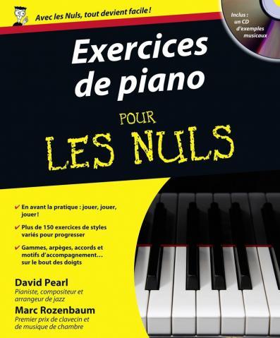 Exercices de piano Pour les nuls