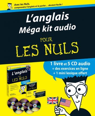 Méga Kit audio anglais Pour les Nuls