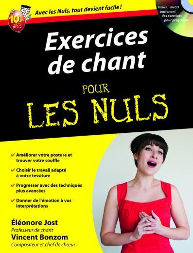 Exercices de chant pour les Nuls