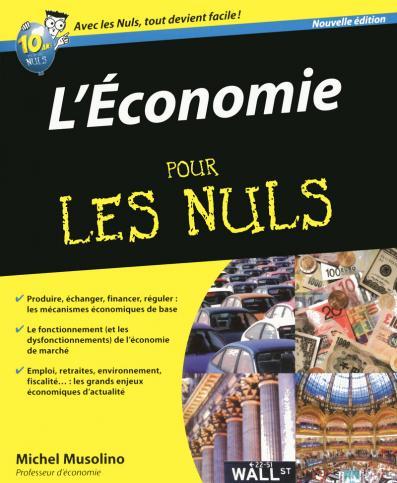 L'Economie 2e Pour les Nuls
