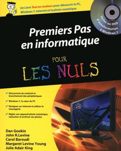 Premiers pas en informatique Pour les Nuls + DVD