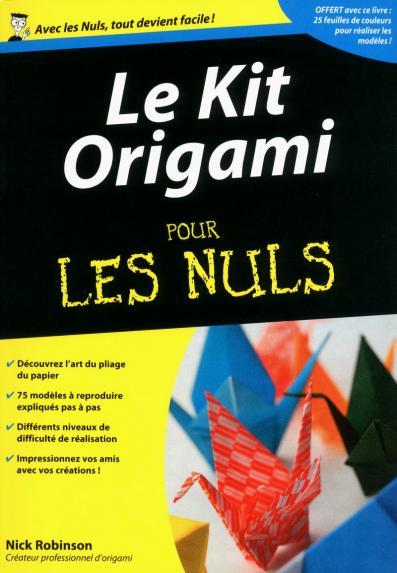 Le Kit Origami Pour les Nuls