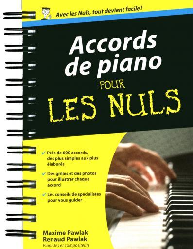 Accords de piano pour les Nuls