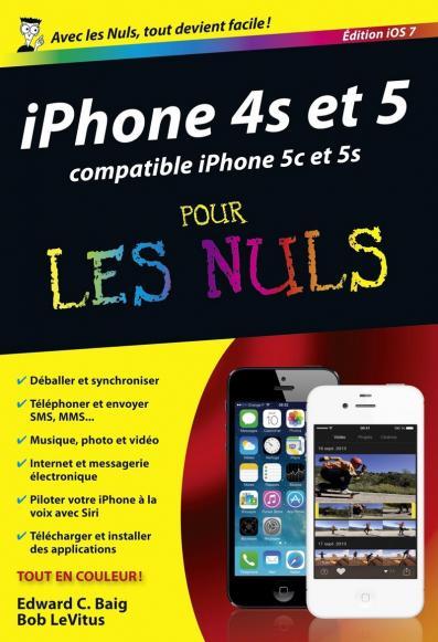iPhone 4S et 5 édition iOS 7 poche pour les Nuls