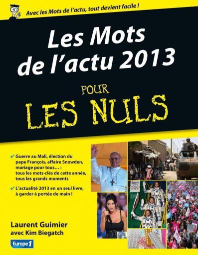Les mots de l'actu 2013 pour les Nuls