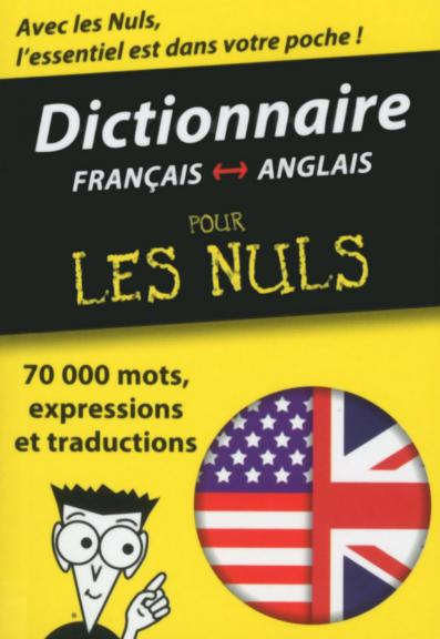 Mini-dictionnaire anglais-français français-anglais Pour les Nuls