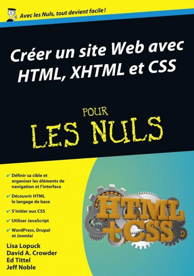 Créer un site Web avec HTML, XHTML et CSS Mégapoche Pour les Nuls