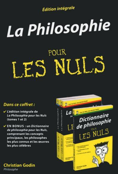 Coffret La Philosophie poche pour les Nuls, 2ème édition