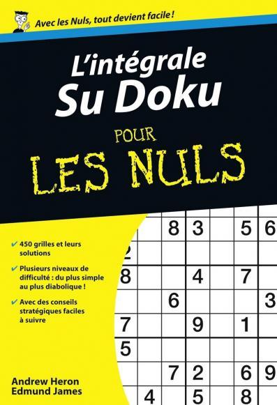 l 39 int grale sudoku pour les nuls pour les nuls. Black Bedroom Furniture Sets. Home Design Ideas