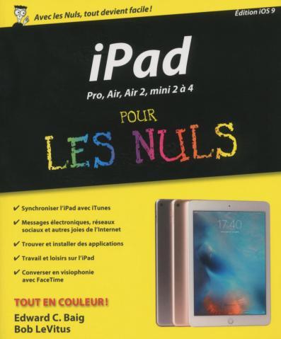 iPad pour les Nuls édition iOS9