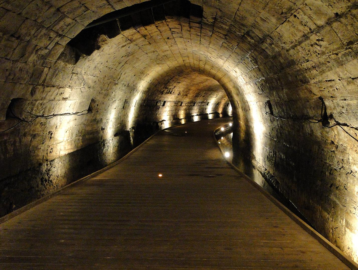 Tunnel des templiers, Acre
