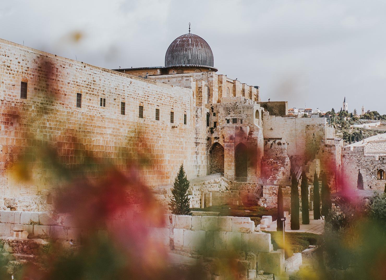 Vieille ville de Jérusalem (Mosquée Al-Aqsa)